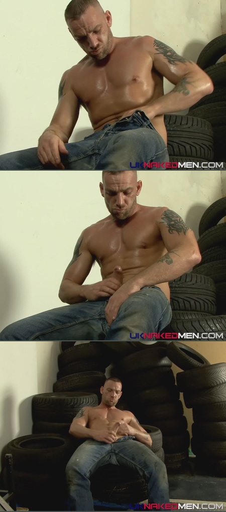hot british guy with dildo