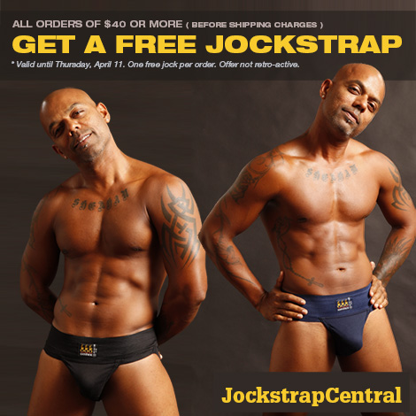 Get a Free Jockstrap