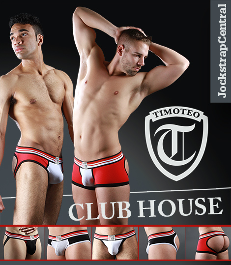 Timoteo Club House Jockstrap Collection