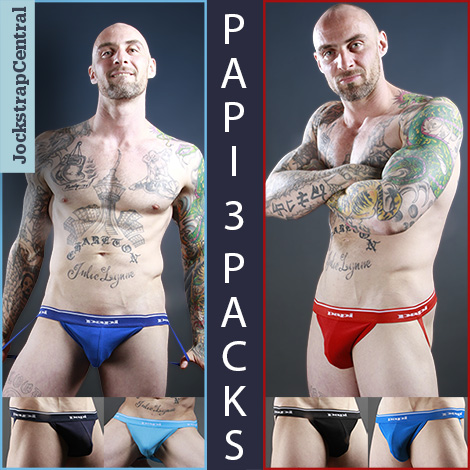 Papi Jockstrap 3 Packs