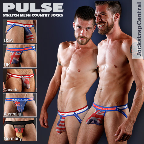 Pulse Stretch Mesh Country Jockstraps