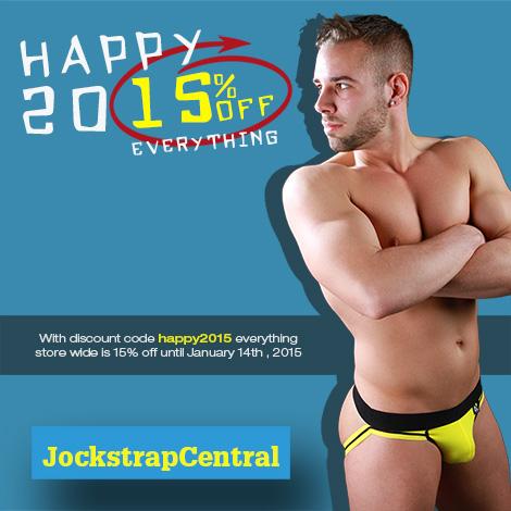 Happy 2015 Sale at Jockstrap Central