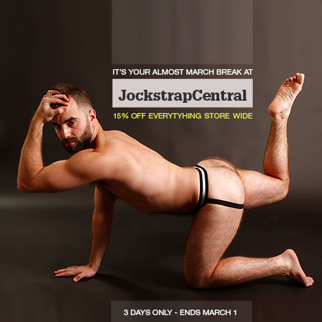Almost March Break Sale at Jockstrap Central