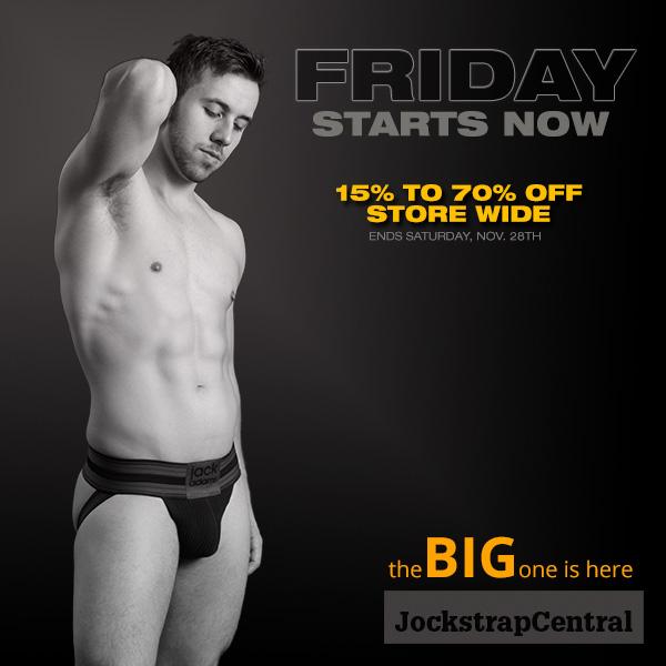 Jockstrap Central Black Friday Sale Starts Now