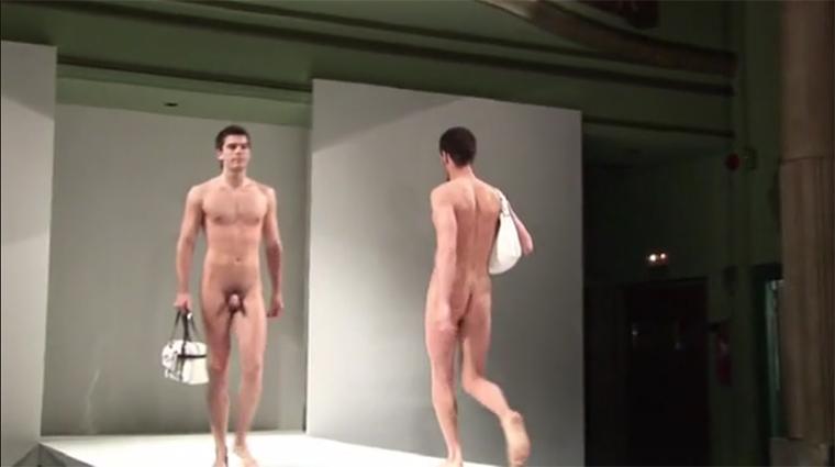 Naked Runway Models