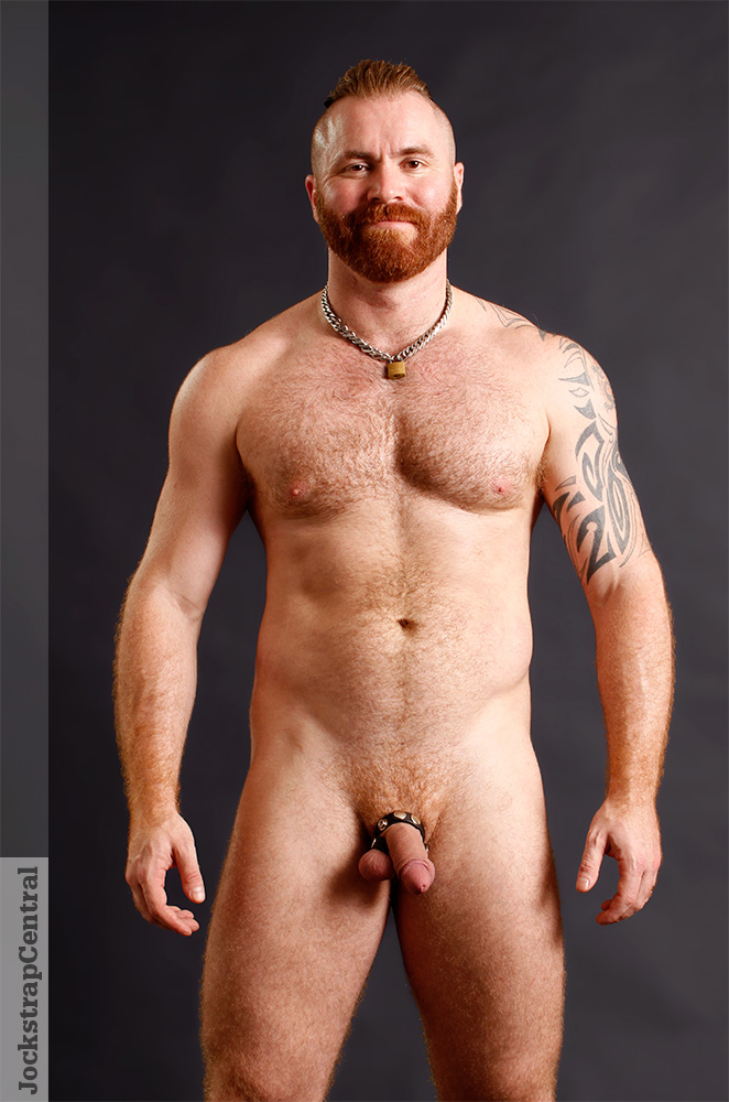 Zack Acland in a Raw Studio Cock Ring and Ball Splitter