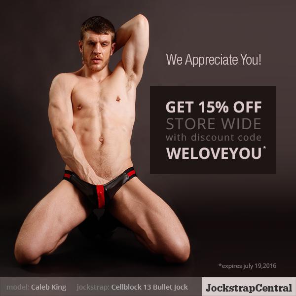 Jockstrap Central Appreciation Sale