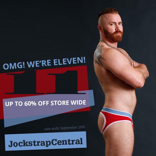 Jockstrap Central 11th Anniversary Sale