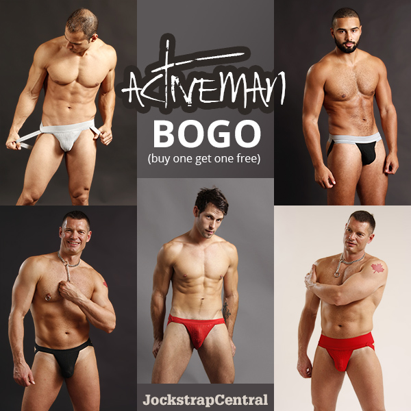 Activeman BOGO at Jockstrap Central