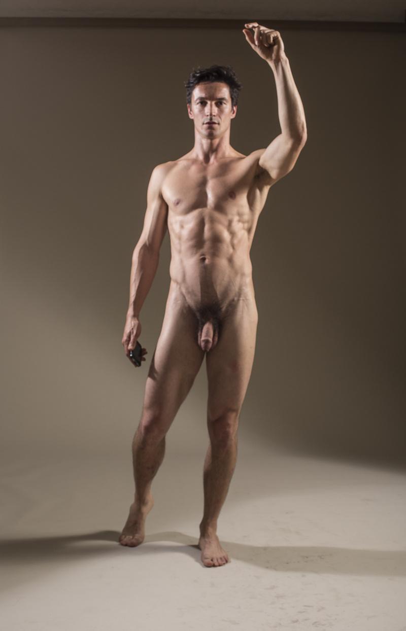 model VainLazyVain naked