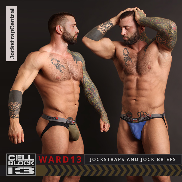 Cellblock 13 Ward 13 Jockstraps and Jock Briefs