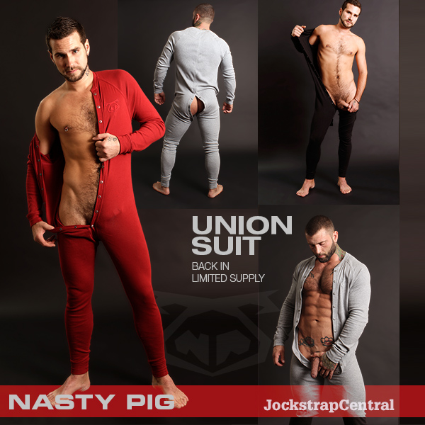 Nasty Pig Union Suits are Here at Jockstrap Central