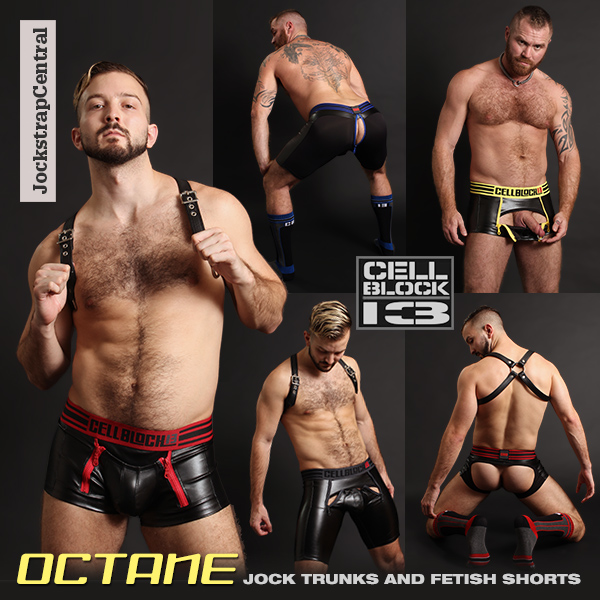 Cellblock 13 Octane Jock Trunks and Fetish Shorts