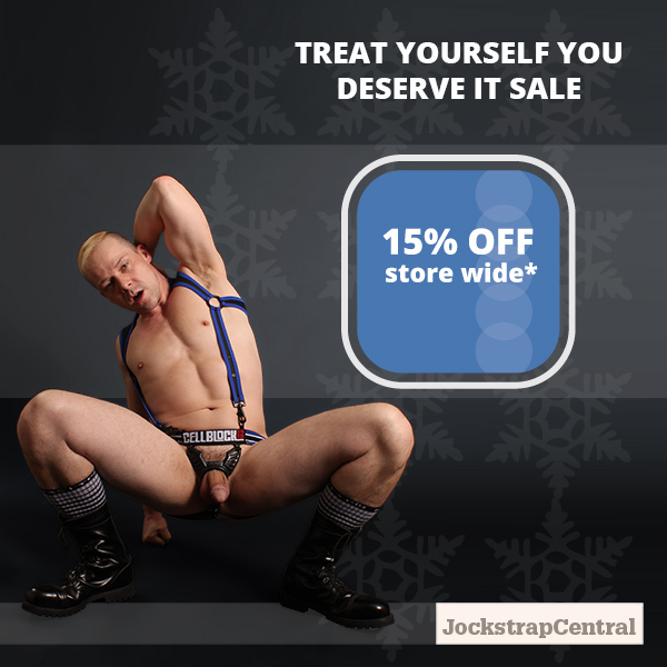 Treat Yourself Sale at Jockstrap Central