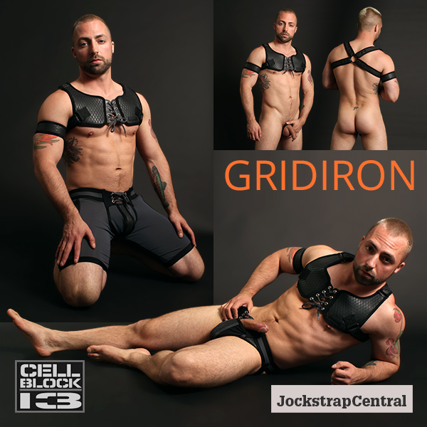 Cellblock 13 Gridiron Gear in Black