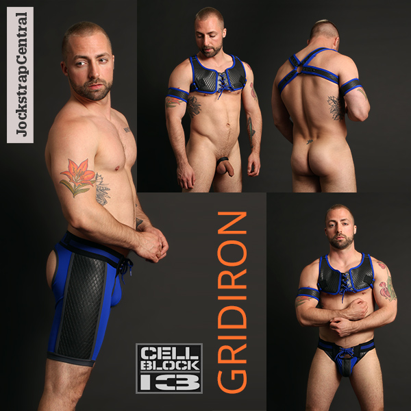 Cellblock 13 Gridiron Gear in Blue