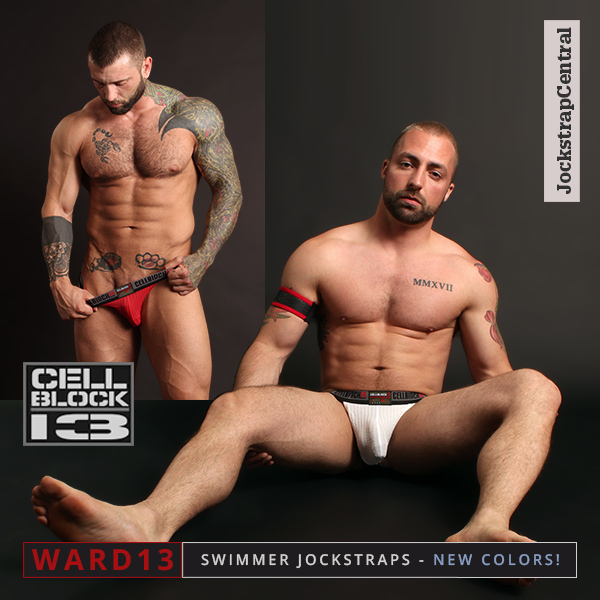 Cellblock 13 Ward13 Swimmer Jockstraps