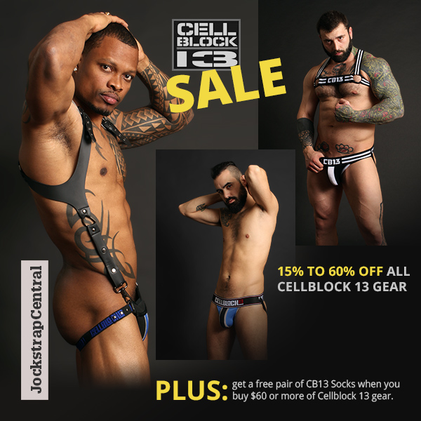 Cellblock 13 Sale at Jockstrap Central