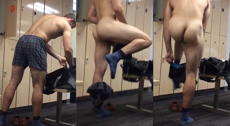 Changing in the Locker Room